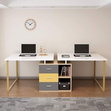 Extra-Long-Computer-Desk-for-2-Person-Adjustable-Double-Workstation-File-Cabinet-Large-Rev