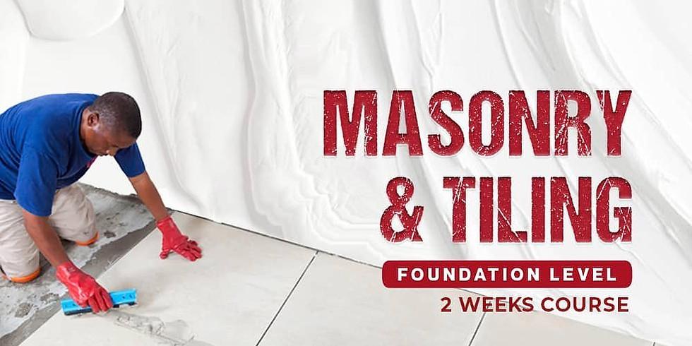 Learn Masonry & Tiling