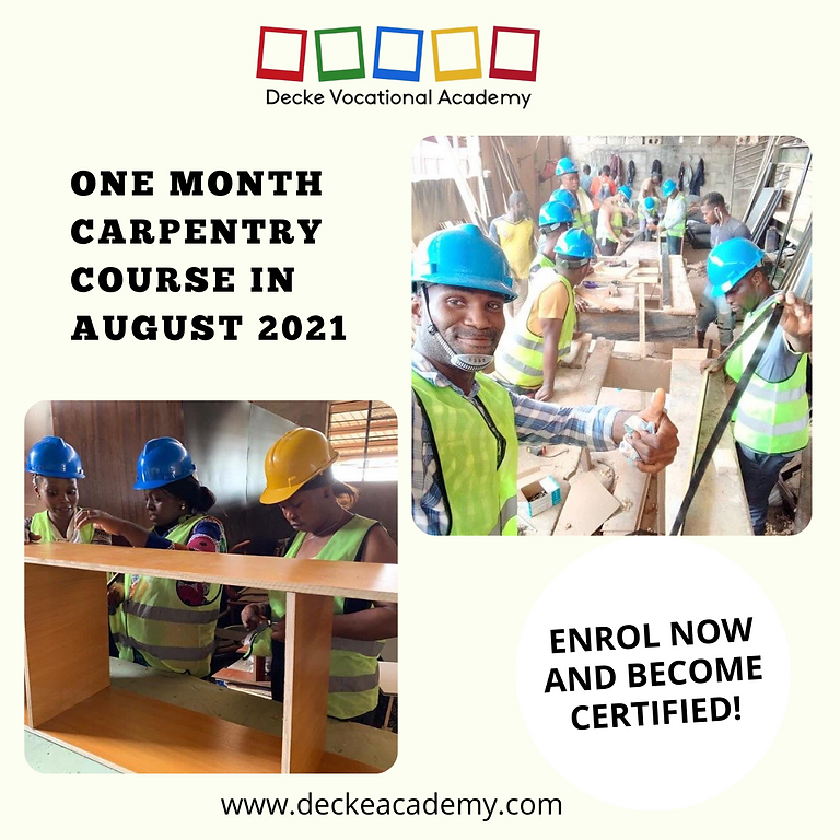 One Month Carpentry Course