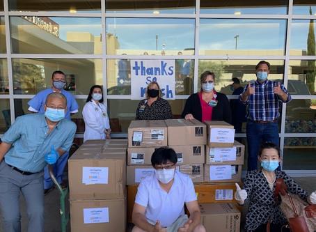 WeTogether -- Donation to St Joseph Hospital