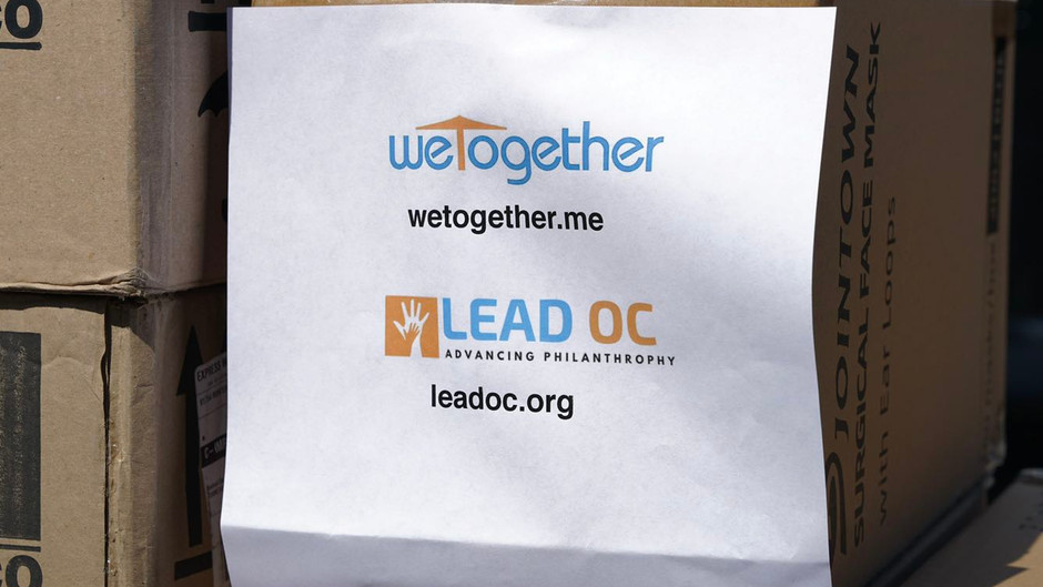 WeTogether -- Donation to City of Tustin