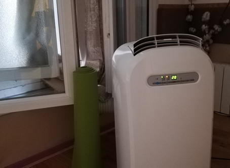 パリ14区フランス支部のエアコン