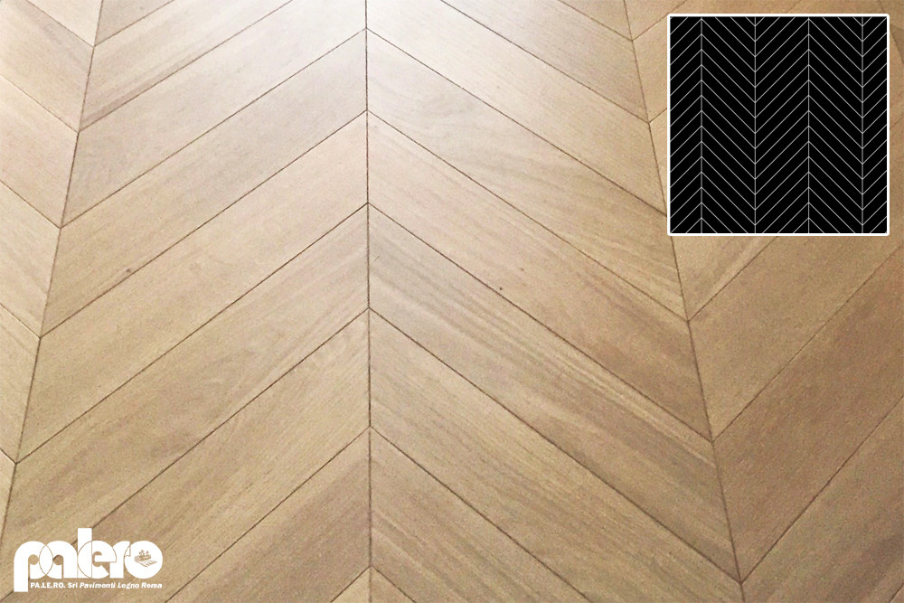 parquet in rovere a spina francese