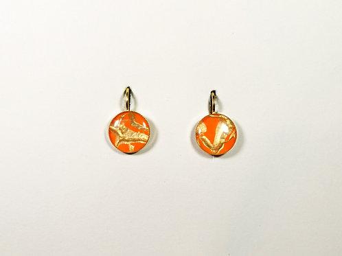 "Circle earrings ""Unique Nr6"""