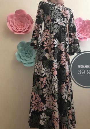 Krep likralı elbise