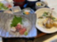 青い林檎の選べるランチ刺身エビマヨ.jpg