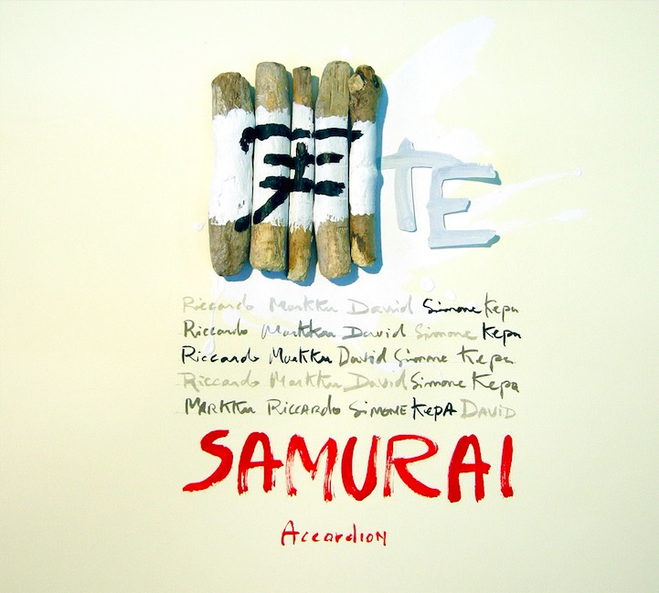 Samurai TE Cover CD