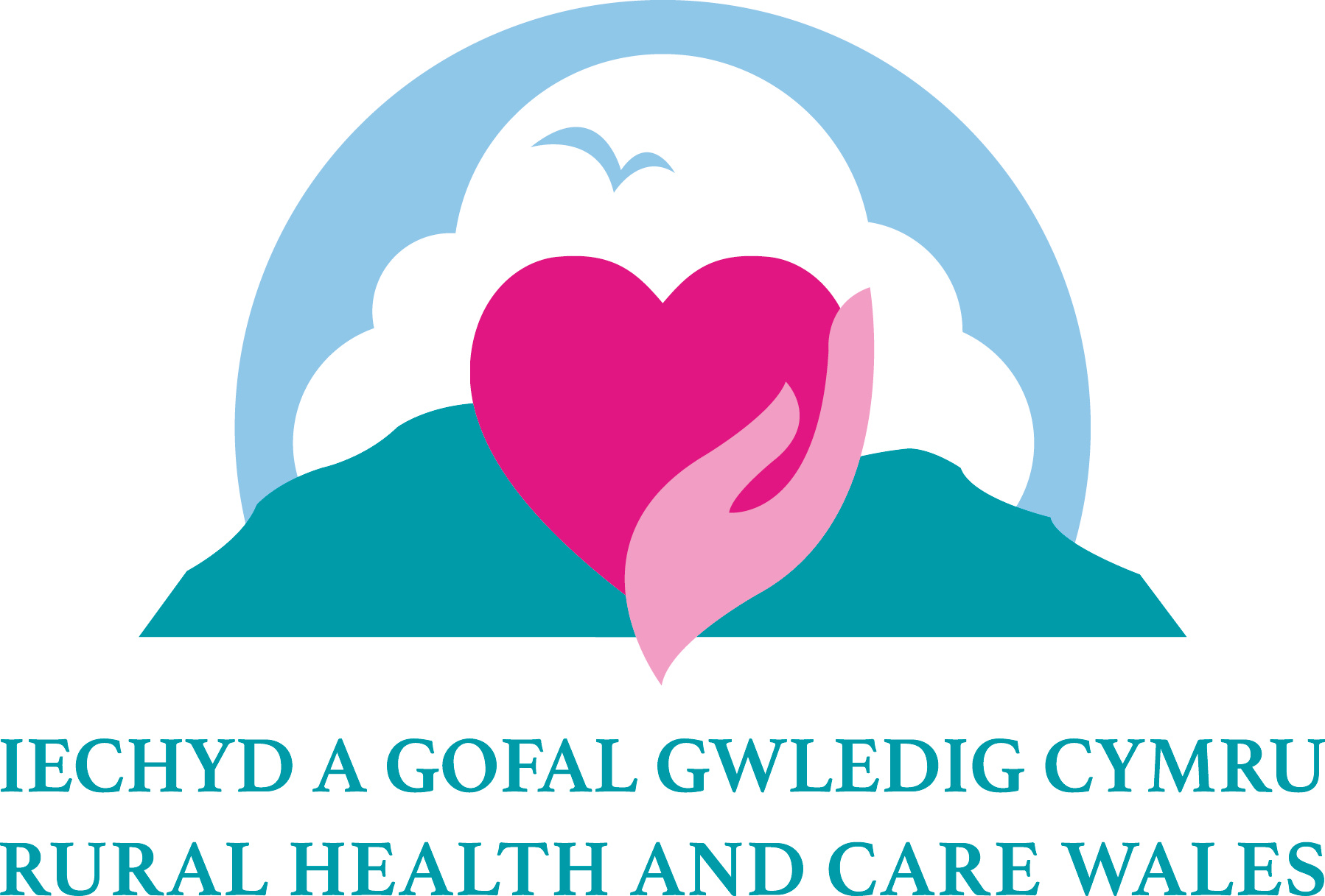 RH and C Wales Logo with text CMYK