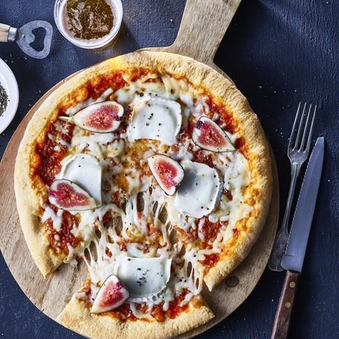 PIZZA CON HIGOS