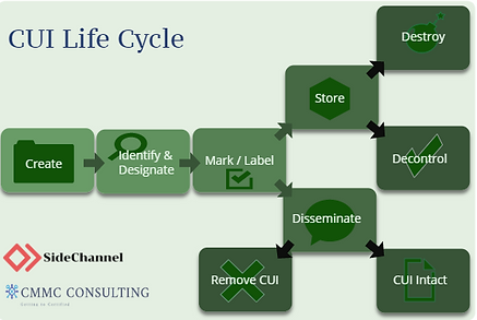 CUI Life Cycle