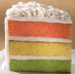 Spumoni Layer Cake