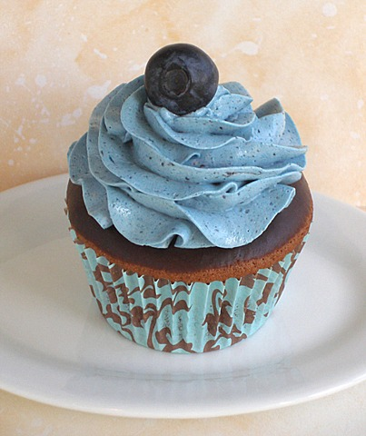 Blueberry Buttercream