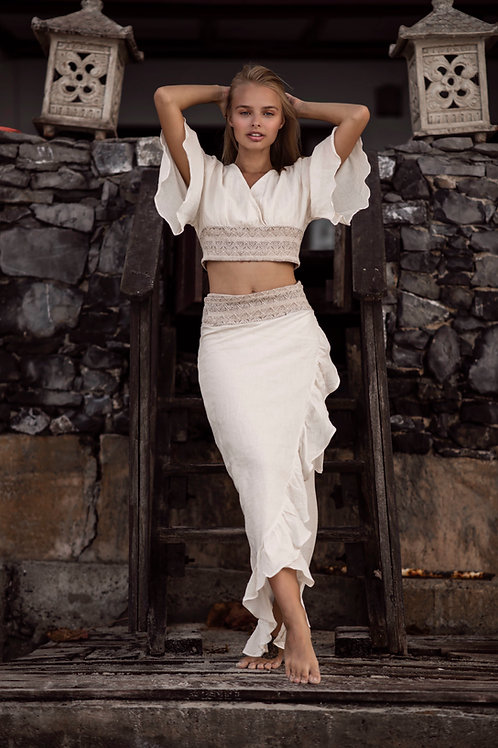 Lanna top and Skirt