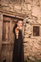 Sera Dress with Hand Block Print