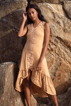 neroli dress in beige