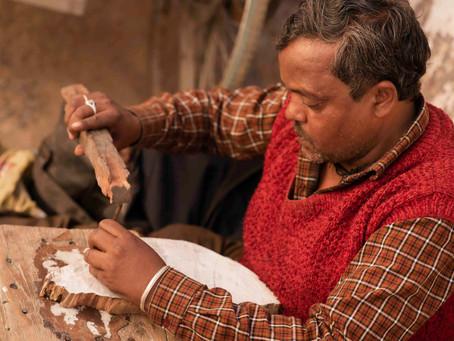 Ram - the Woodcarver