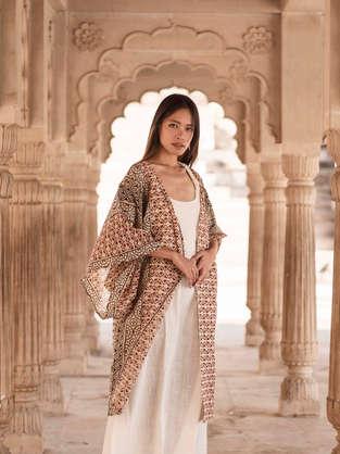 Sera Dress and Aren Kimono of Atman's Earthbound collection