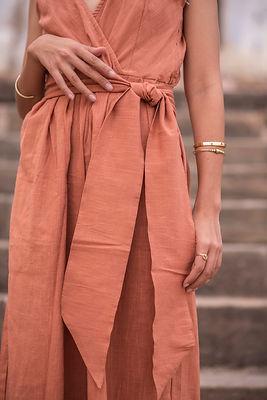 Cotton Linen fabric details