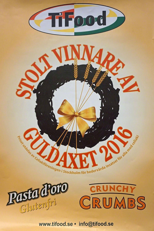 Bild på affischen med Guldaxets vinnare