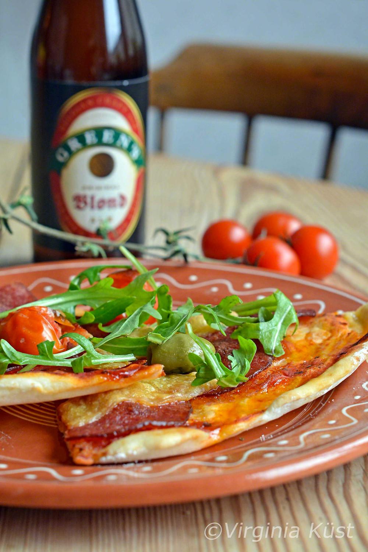 Glutenfri och mjölkfri pizza
