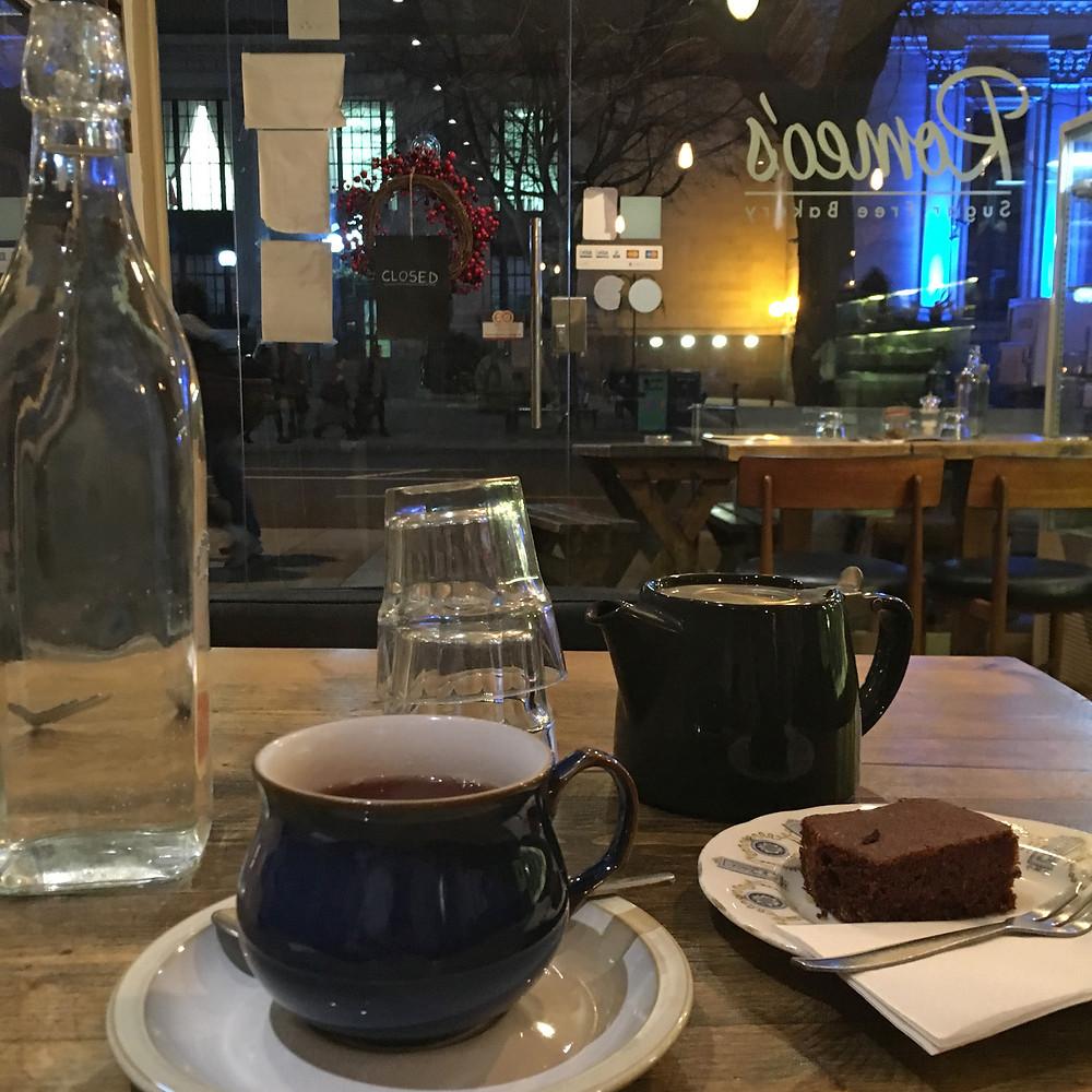 Glutenfritt kafé i London - Romeo's glutenfree bakery