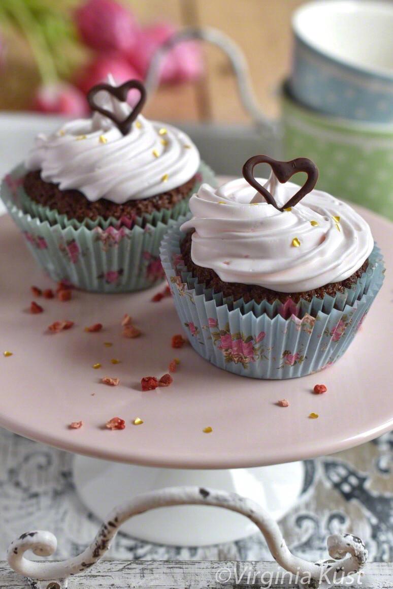 Glutenfria och mjölkfria cupcakes