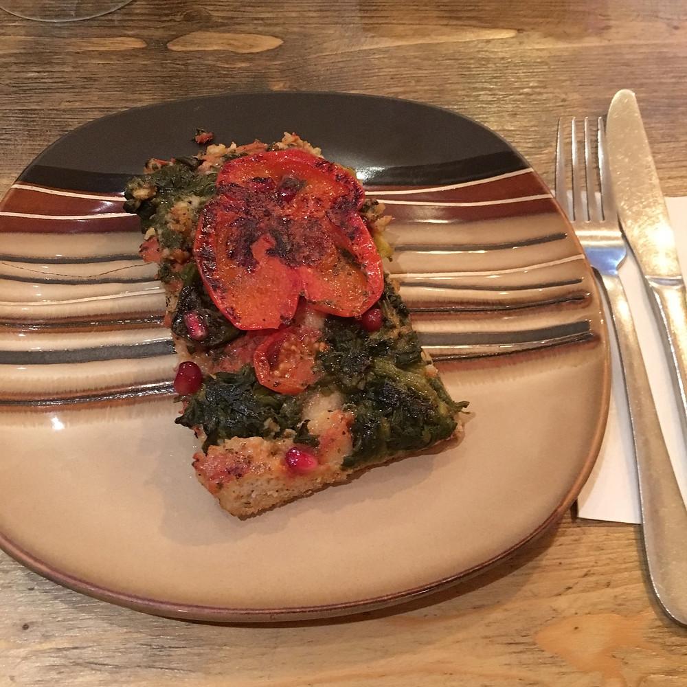 Glutenfritt pizza i London - Romeo's glutenfree bakery