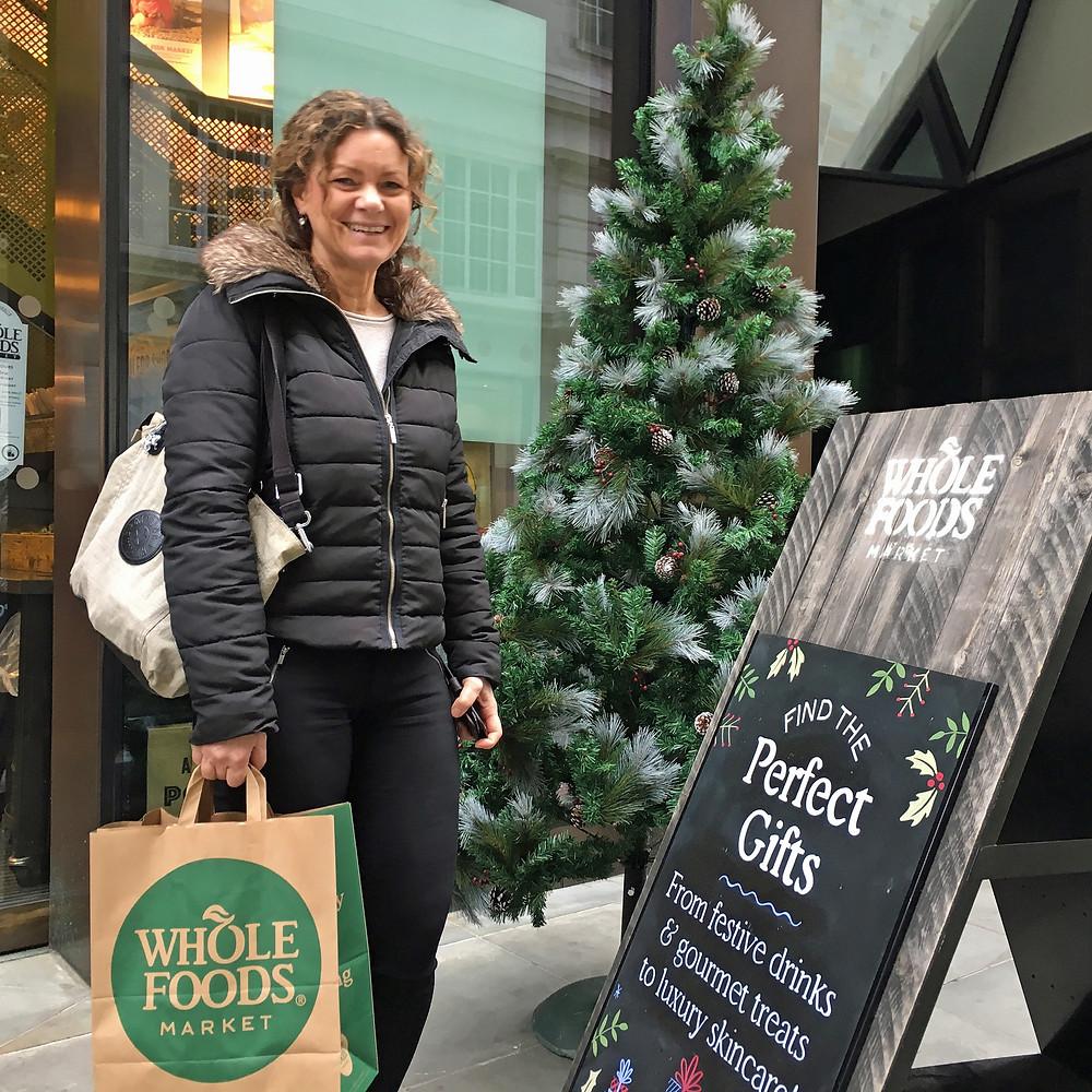 Glutenfritt i London med Küsten är klar - Whole Foods