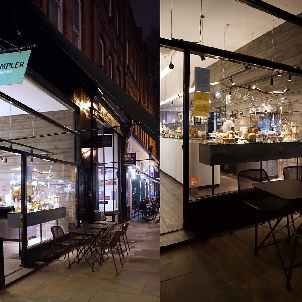 Glutenfritt kafé i London - Beyond Bread