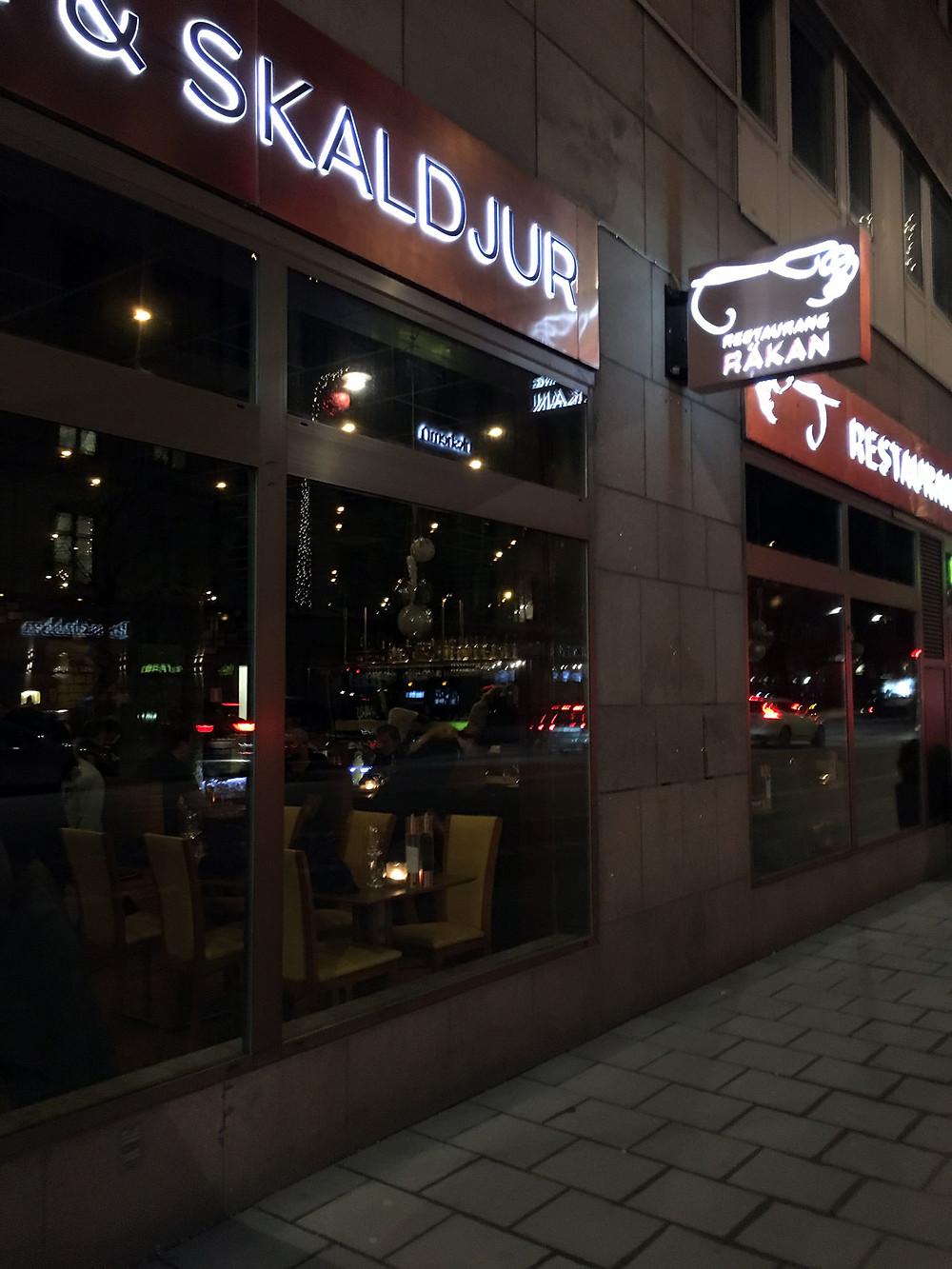 Glutenfritt i Stockholm - Restaurang Räkan