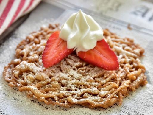 FRASIGT GODA GLUTENFRIA FUNNEL CAKES