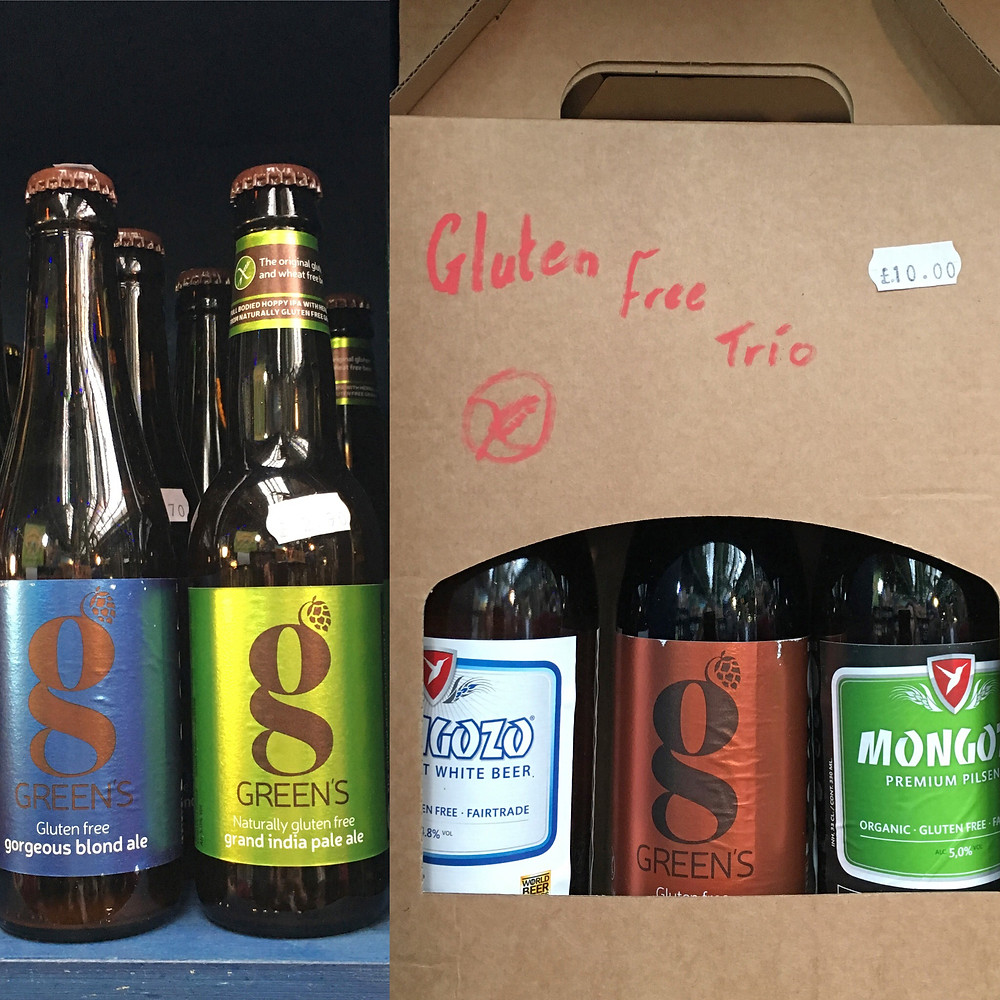 Glutenfri öl på The Borough Market - Green's
