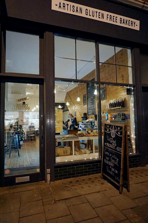 Glutenfritt kafé i London - Artisan Glutenfree Bakery