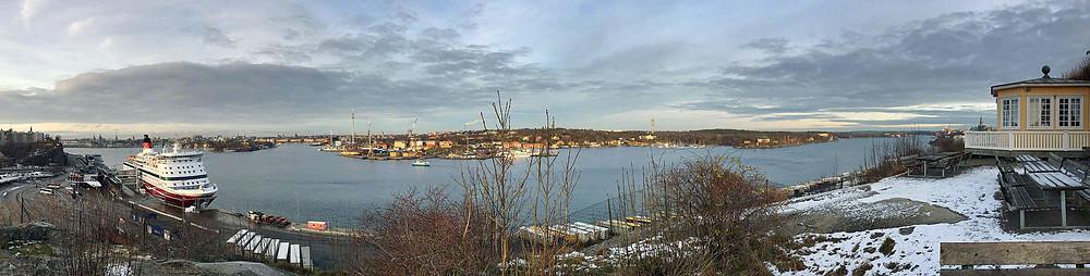 Utsikt från Fåfängan i Stockholm