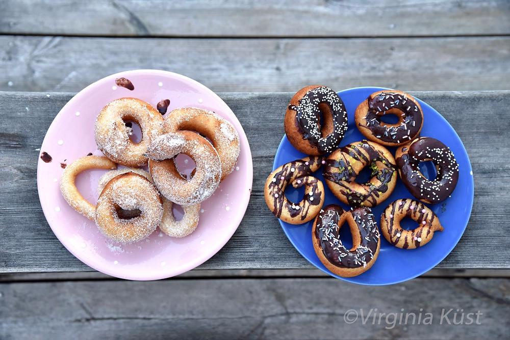 Glutenfria donuts