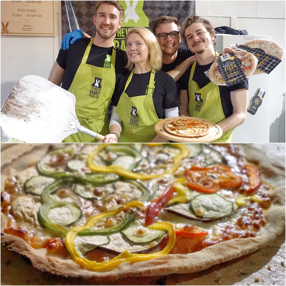 Free From Festival in England - The white Rabbit Pizza Co