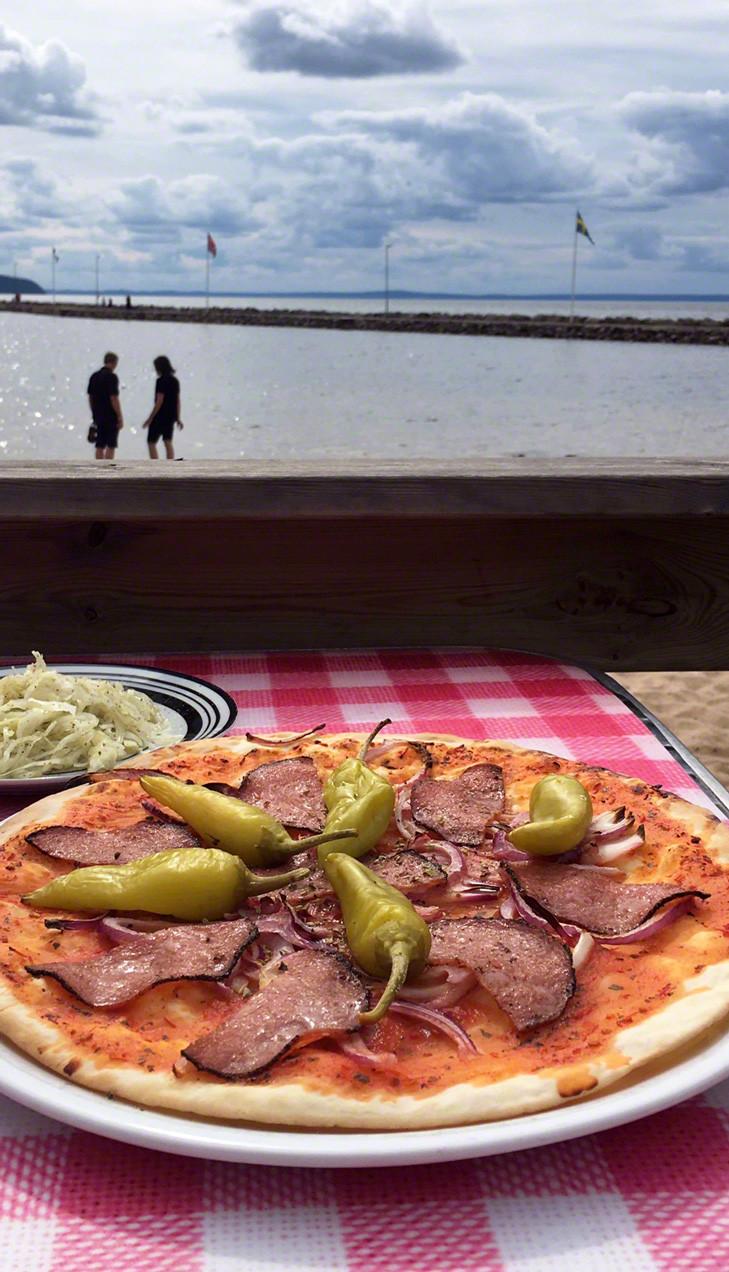 Glutenfri pizza i Gränna