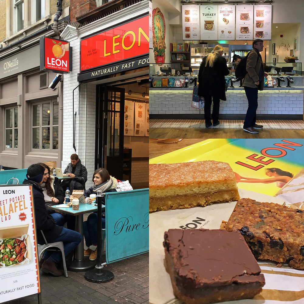 Glutenfritt i London - Leon