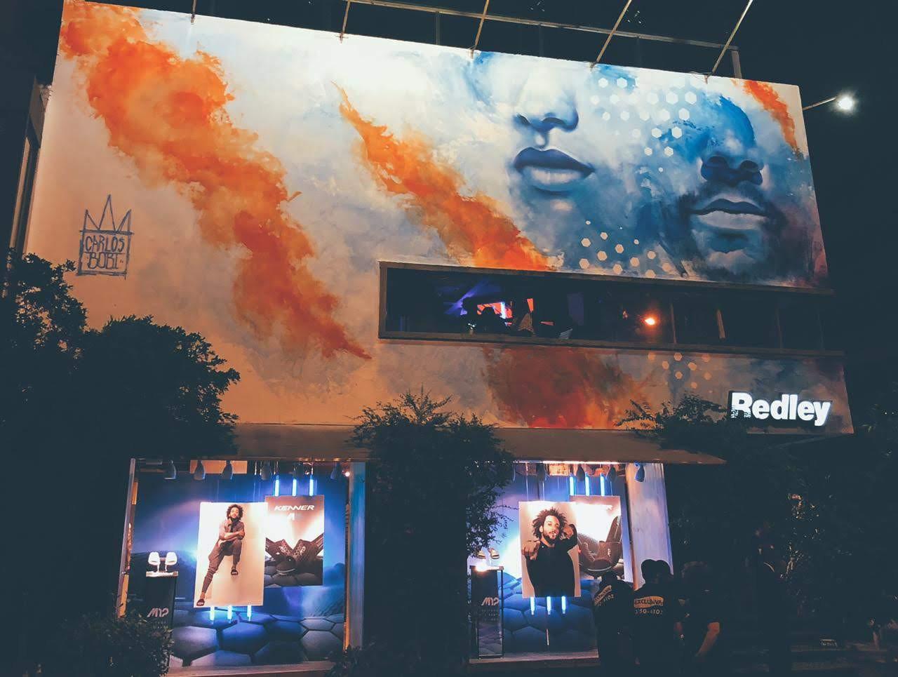 Ipanema Wall - Redley - 2019.