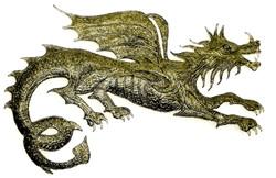 Bas Relief - Dragon