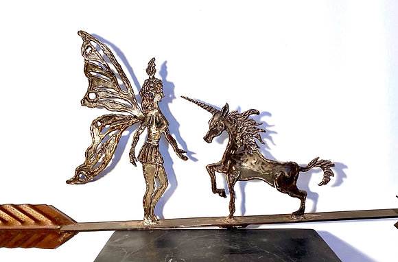 La nymphe et la licorne