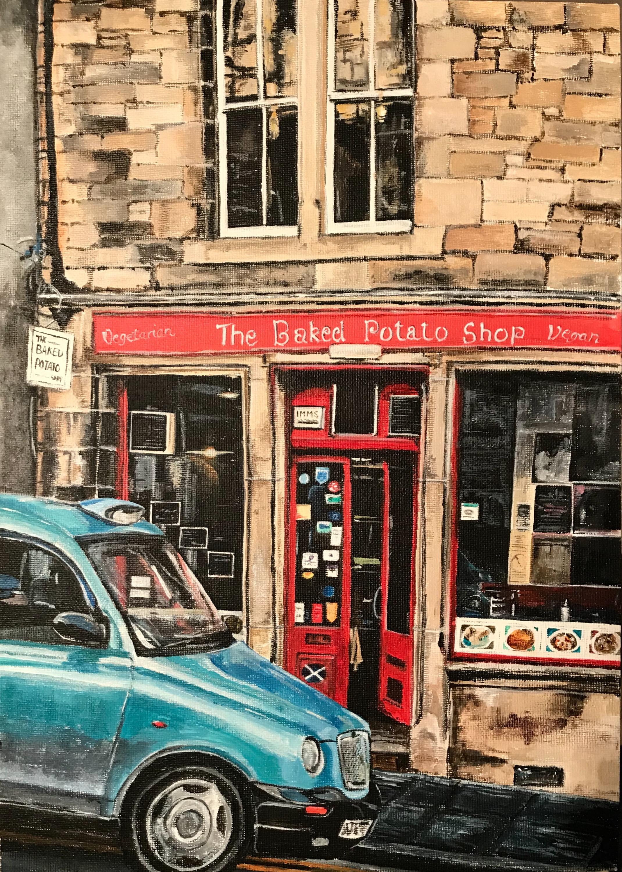The Baked Potato Shop, Edinburgh