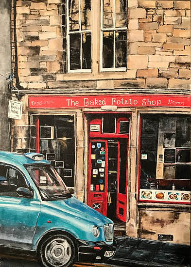 The Baked Potato Shop, Cockburn Street, Edinburgh