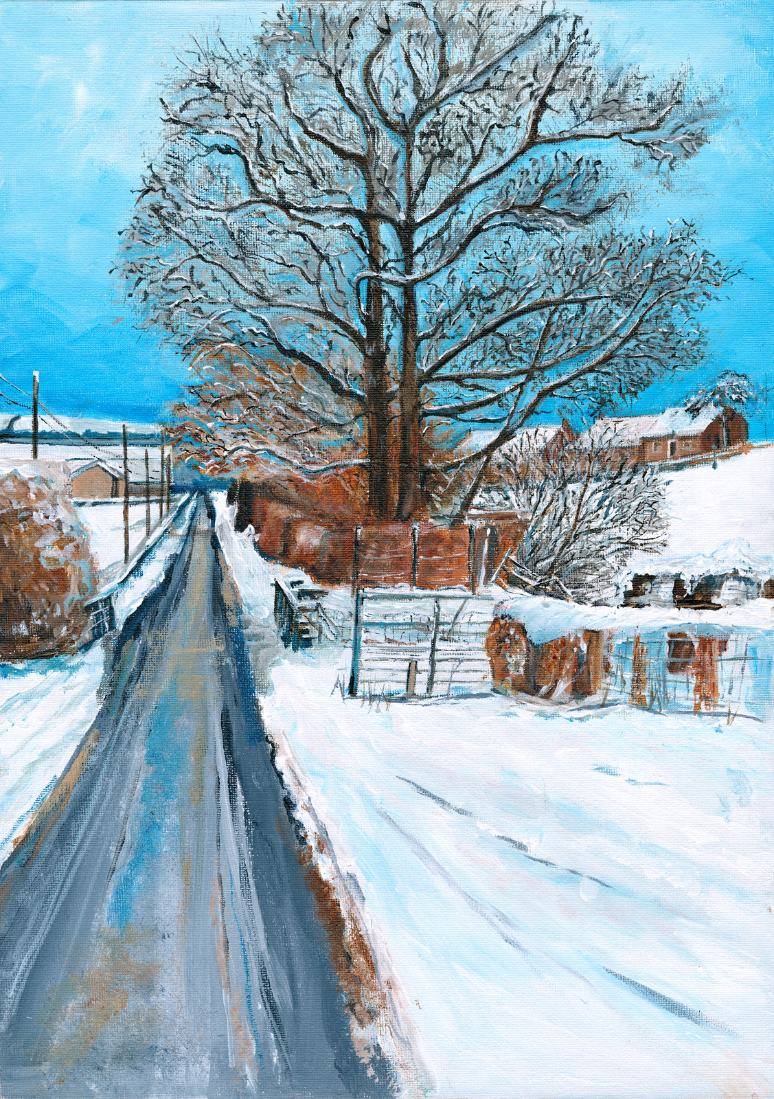 First Snow by Deborah Copeland