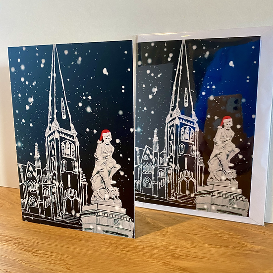 'Rabbie' Burns Festive Greeting Card