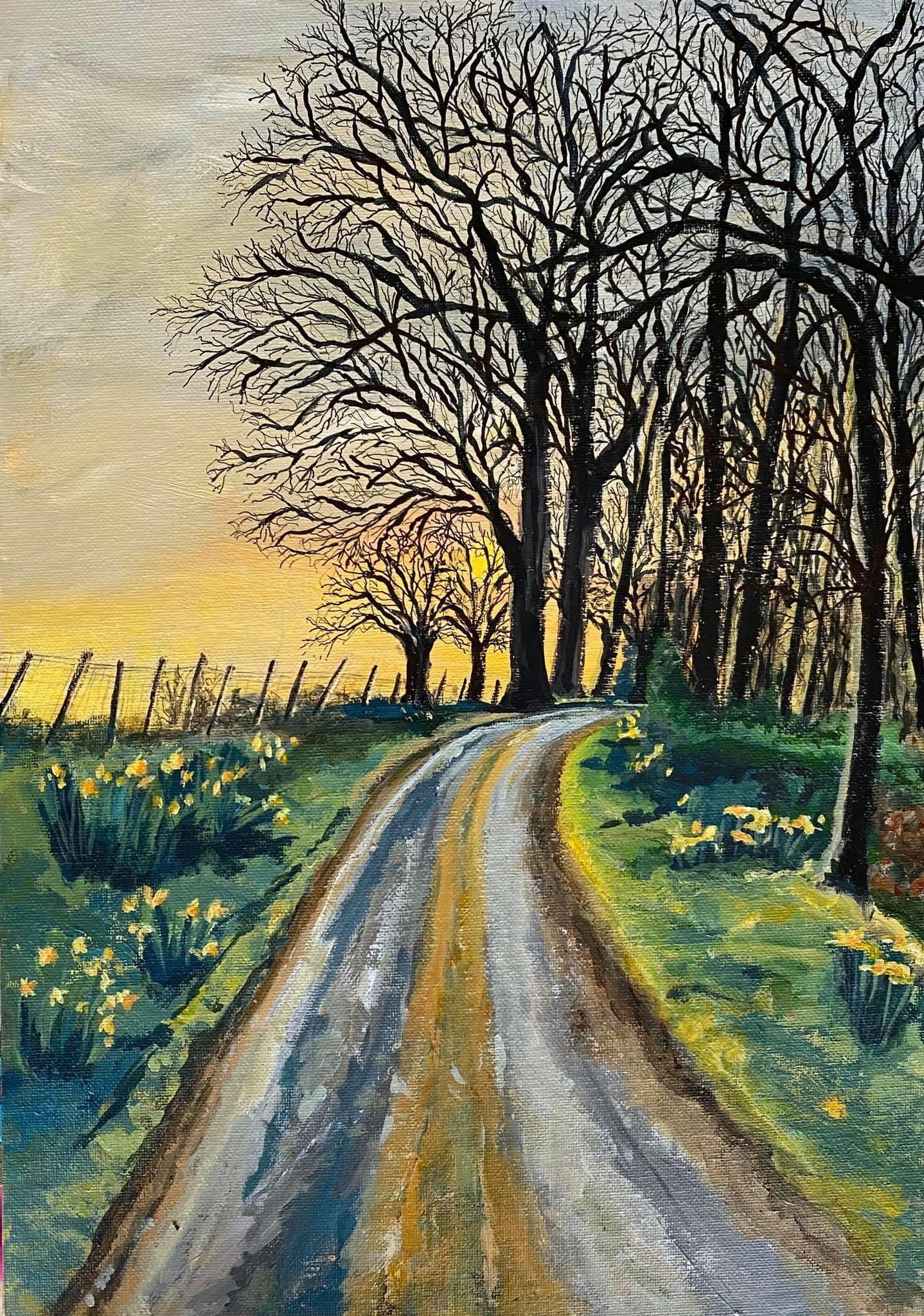 Sunset & Silhouette by Deborah Copeland.