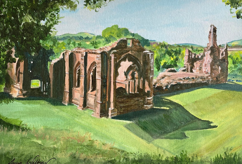 Lincluden Abbey, Dumfries