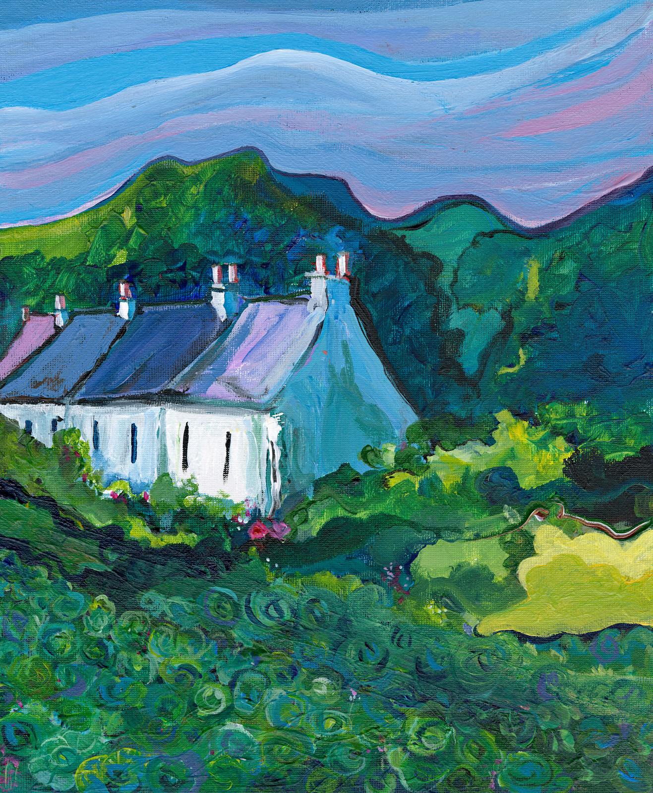 Cabbage Patch Cottages by Laura Walker