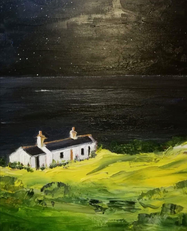 Dark Sea Cottage by Laura Walker