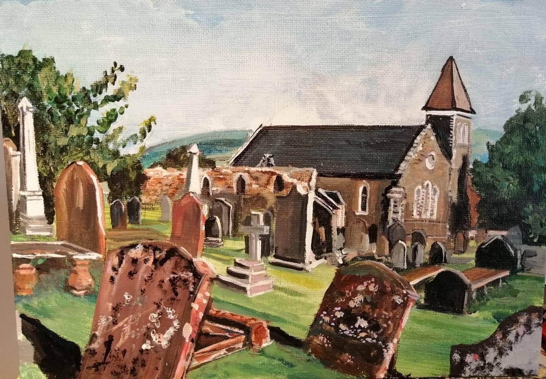 Wigtown Parish Church by Laura Walker